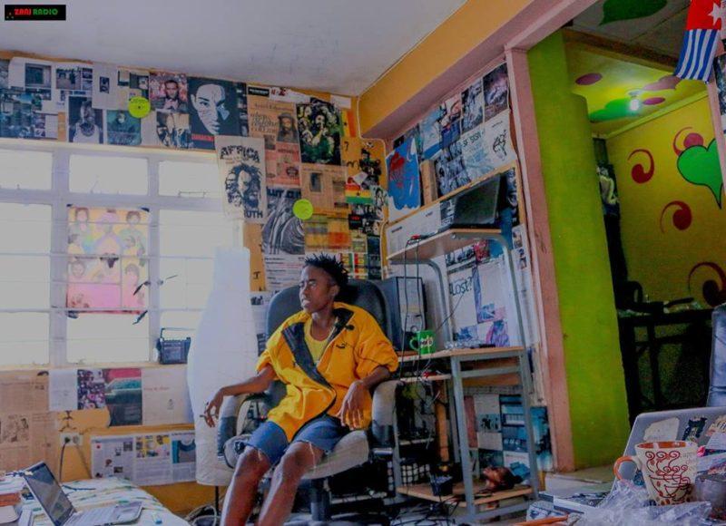 DJ Ear Audigy in studio