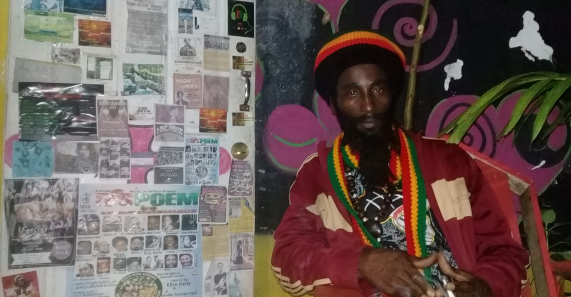 Poet Ras Shadd-I delivers Spoken Word on Reggae Sessions