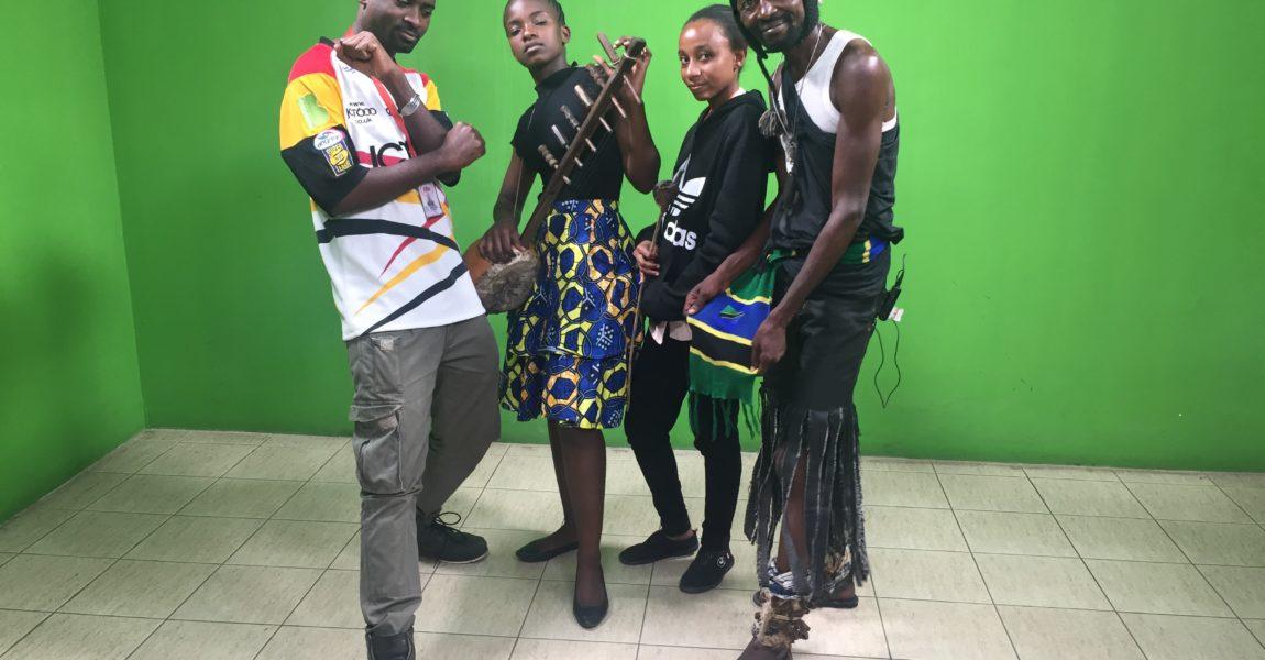 VJ MajiMaji Baba Afrika on ZANJ RADIO